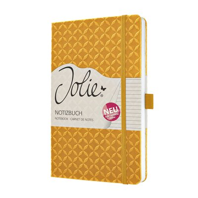 Notitieboek Sigel Jolie Flair A5 lijn mango