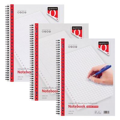 Collegeblok Quantore A4 23-gaats lijn 100vel
