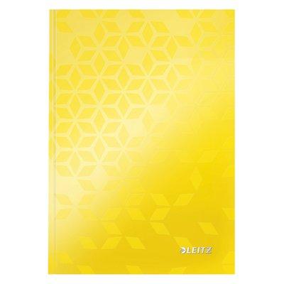 Noitieboek Leitz WOW A5 lijn geel