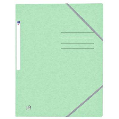 Elastomap Oxford Top File+ A4 pastel groen